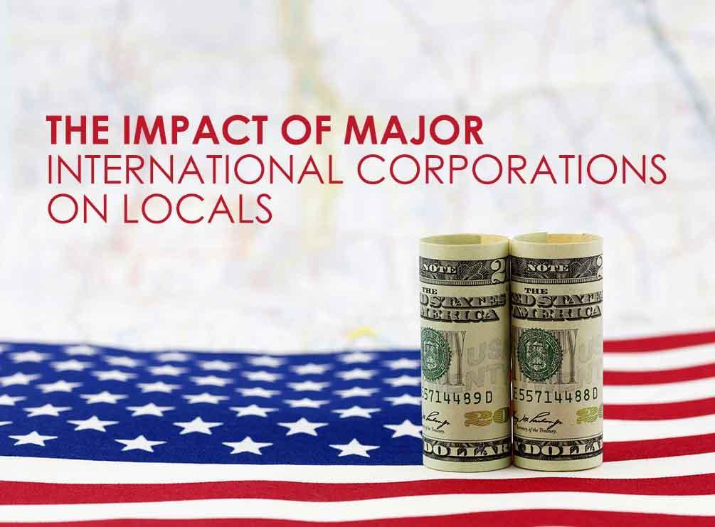 Major International Corporations on Locals